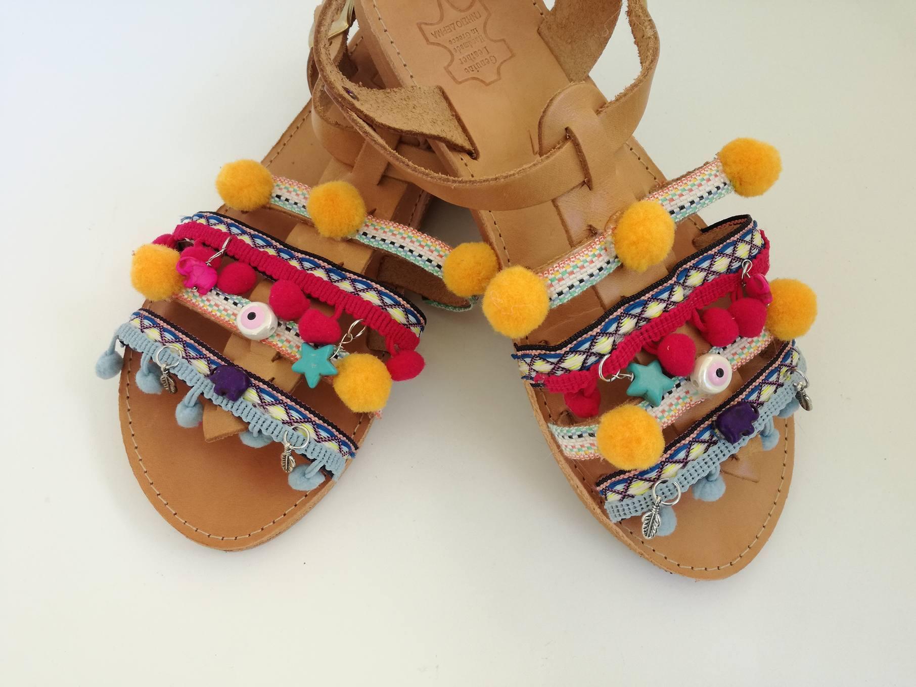 af612fef6c Tutorial Boho Sandals Χειροποίητα Boho Σανδάλια - e-xantra.gr
